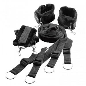 Blaze Bed Restraint Set