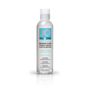 JO Sensual Massage Glide Unscented 120 ml