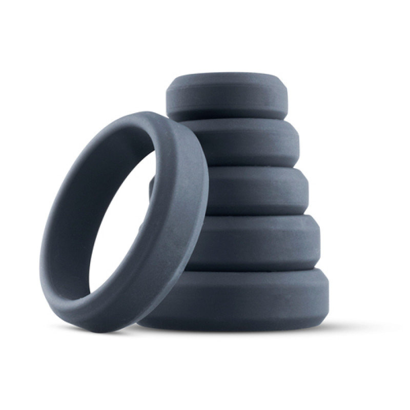 Boners 6-Piece Cock Ring Set