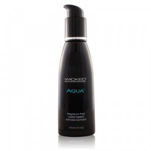 Wicked Aqua Lubricant Fragrance Free 120 ml