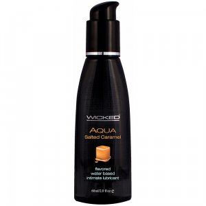 Wicked Aqua Edible Lubricant Salted Caramel 60 ml