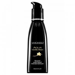 Wicked Aqua Edible Lubricant Vanilla Bean 60 ml