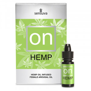 ON Natural Arousal Oil for Her Hemp 5 ml