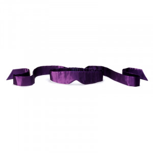 Intima Silk Blindfold Purple