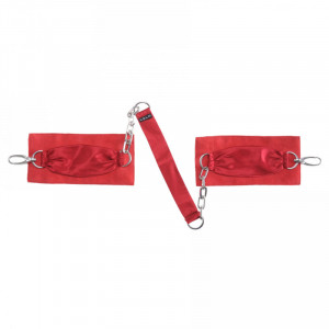 Sutra Chainlink Red Cuffs