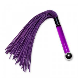 Sensua Suede Whip Purple