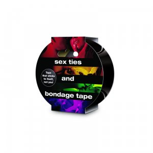 Sex Ties And Bondage Tape Black