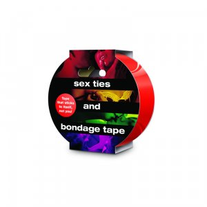 Sex Ties And Bondage Tape Red