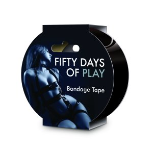 Fifty Days of Play - Bondage Tape Black