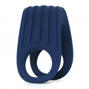 OVO B12 Vibrating Ring - Deep Blue