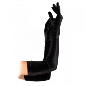 LA Velvet Opera Length Gloves