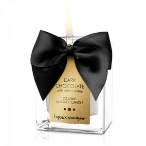 Dark Chocolate Kissable Massage Candle