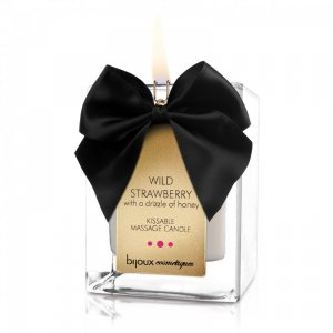 Wild Strawberry Kissable Massage Candle