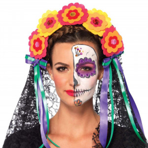 LA Day of the Dead Headband