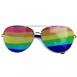 Aviator Rainbow Sunglasses