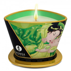 Shunga Massage Candle Exotic Green Tea 170 ml