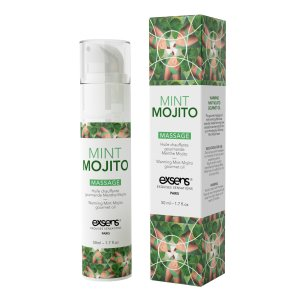 Warming Gourmet Massage Oil Mint Mojito 50 ml