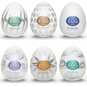 Tenga Egg - Hard Boiled 6 pack