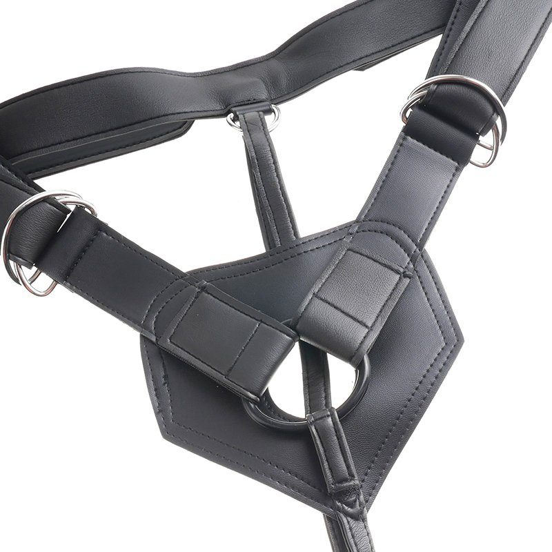 King Cock Strap-on Harness W/ 9 Inch Cock - Black