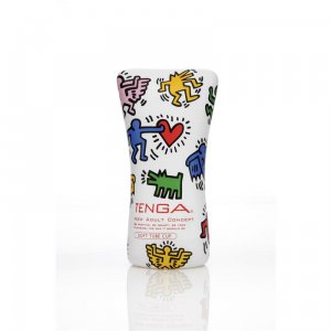 Tenga Soft Tube Cup - By Keith Haring