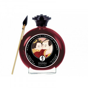 Shunga Body Paint Strawberry Wine