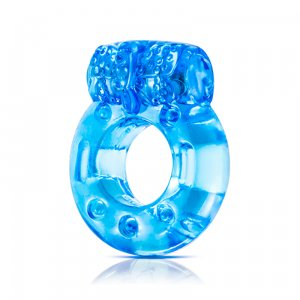 Stay Hard Reusable Cockring - Blue