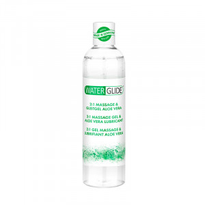 Waterglide 300 ML - Massage and Lubricant Aloe Vera