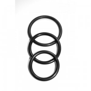 Sex and Mischief Nitrile Cock Ring 3-Pack