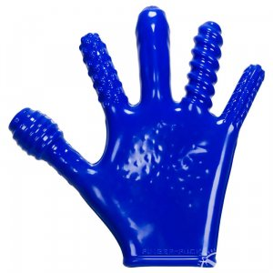 Finger Fuck Glove - Blue