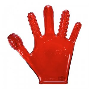 Finger Fuck Glove - Ruby