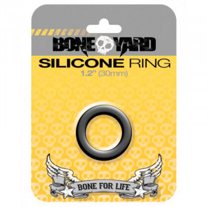 Silicone Ring 30 mm - Black