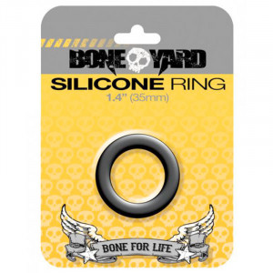Silicone Ring 35 mm - Black