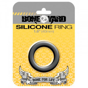 Silicone Ring 40 mm - Black