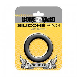 Silicone Ring 50 mm - Black