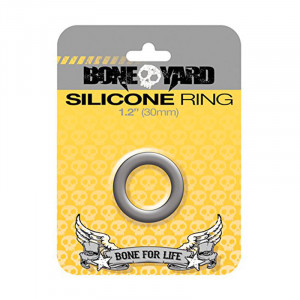 Silicone Ring 30 mm Grey