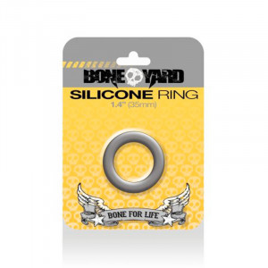 Silicone Ring 35 mm Grey