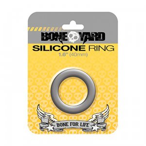 Silicone Ring 40 mm Grey
