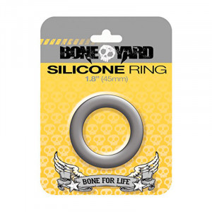Silicone Ring 45 mm Grey
