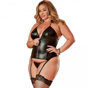 Zip-Up Merry Widow Corset