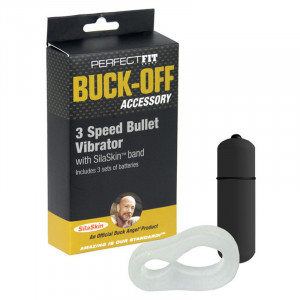 Buck-Off 3 Speed Bullet Vibrator