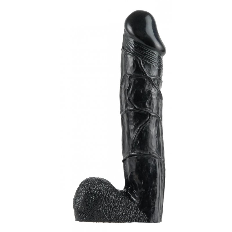 Hollow Strap-On 12 Inch - Black