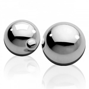 Medium Weight Ben-Wa-Balls - Silver