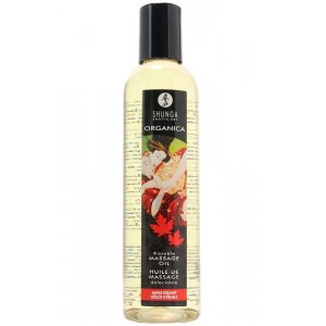 Shunga Erotic Massage Oil Organica (Maple Delight) 250 ml