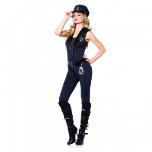Deputy Patdown 4 pc Costume