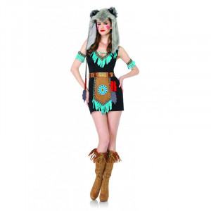 LA Wolf Warrior Dress and Hood
