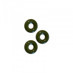 Chubby Rubber Cockring 3-Pack - Army Green