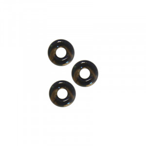 Chubby Rubber Cockring 3-Pack - Smoke