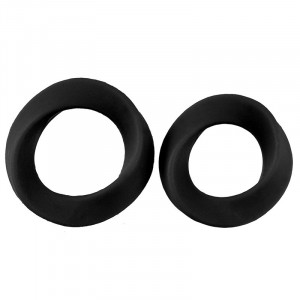 Infinity L and XL Cockring - Black