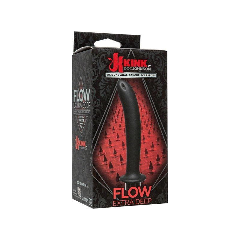 Flow Extra Deep Silicone Anal Douche Accessory