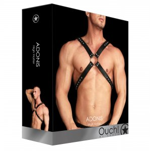 Adonis - High Halter - Black